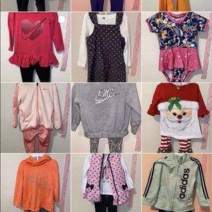 18-24 m girl outfits 12$ each